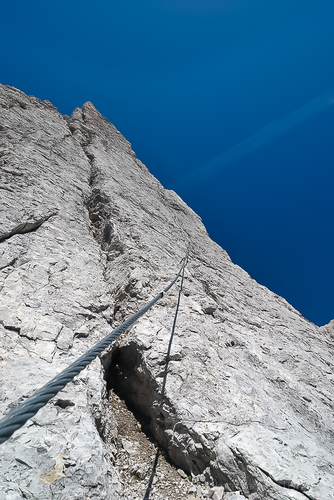 Imster Klettersteig (solo)